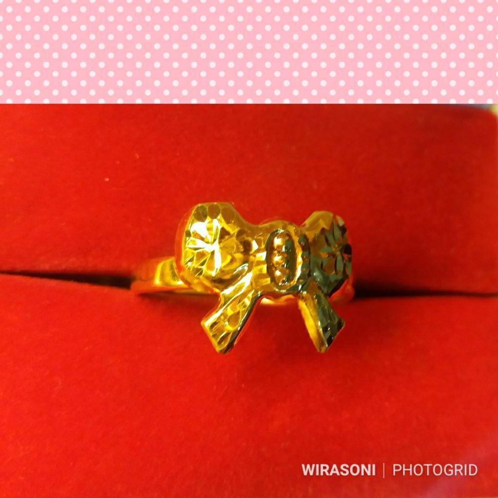 Wirasoni -Cincin Emas Kadar 70% / 700 By Wirasoni.