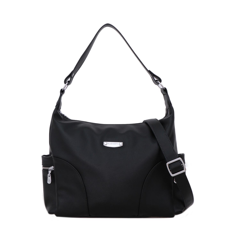 Tas Wanita Elizabeth Bag Carissa Tote Bag Black 10efe2707e