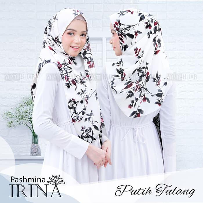 Jual Hijab (Jilbab) Modern Terbaik / Pashmina Irina / fashion hijab 2019 / trend fashion hijab 2019 / model kerudung terbaru 2019