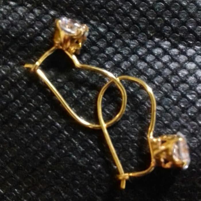 anting emas tauge - Emas