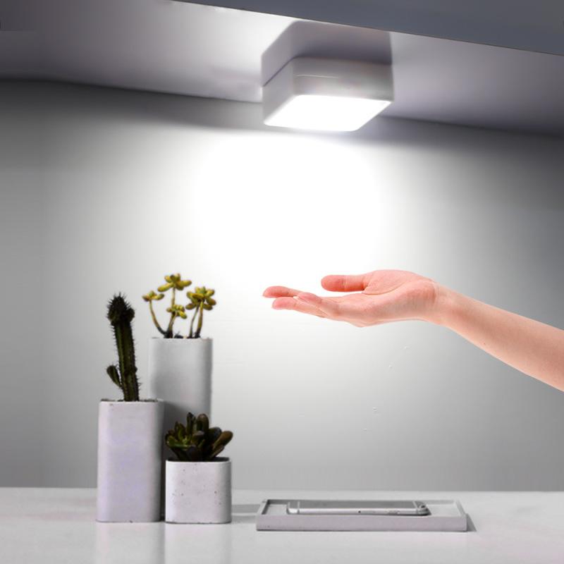 Joymo 2020 UV Diệt Khuẩn Đèn Cảm Biến Cơ Thể Đèn Tủ Cảm Biến Chuyển Động Máy Khử Trùng Tia UV Đèn Chiếu Sáng Nhà Vệ Sinh Đèn Tường Đèn Ban Đêm Trắng Khử Trùng Đèn Màu Tím