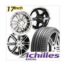Beli Paket Cicilan 4 Velg Racing 17 Inch City Car 4 Ban Achilles Gratis Pasang Kirim Jabodetabek Terbaru