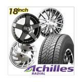 Beli Paket Cicilan 4 Velg Racing 18 Inch Suv 4 Ban Achilles Gratis Pasang Kirim Jabodetabek Yang Bagus