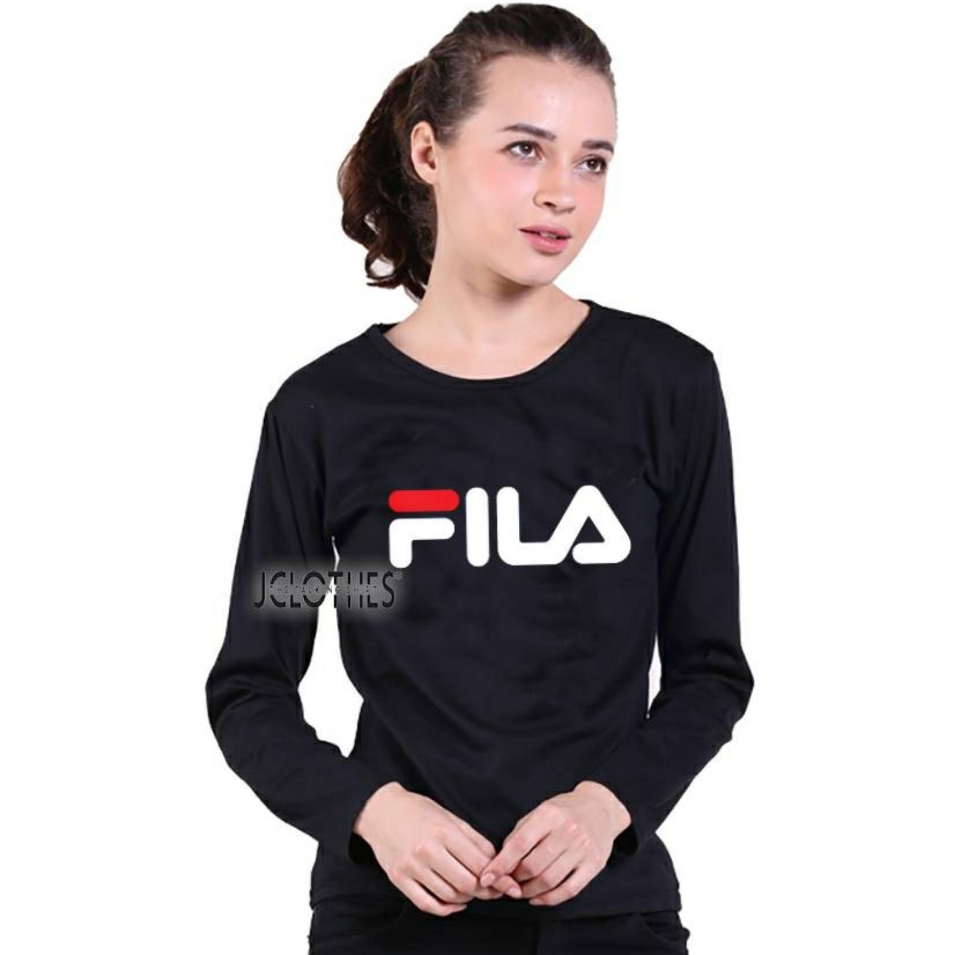 JCLOTHES - Tumblr Tee FL T-Shirt Kaos Wanita Lengan Panjang