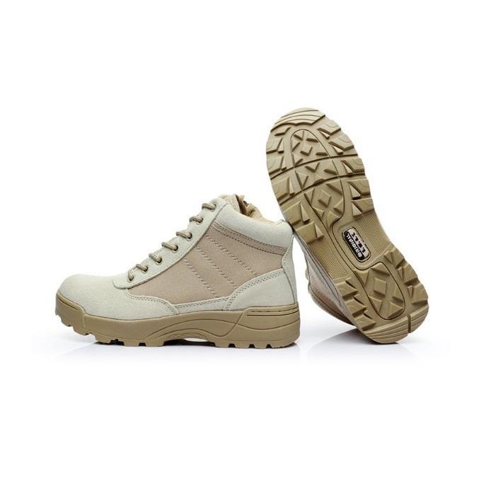 กลางแจ้ง Low - Top รองเท้าบูตลุยป่ารองเท้าปีนเขา Desert รองเท้าบู๊ทสำหรับกองทัพทหารแฟนรองเท้าออกกำลังกาย By Waterlily.
