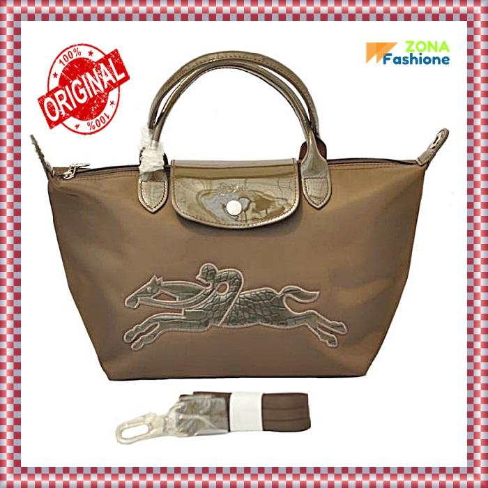 Authentic Longchamp Neo Victoire Small Size - Brown   tas wanita   tas    tas slempang 46c17c0f98