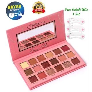 Beauty Creations Tease Me Eyeshadow Palette + Free Cetak Alis 1 Set thumbnail