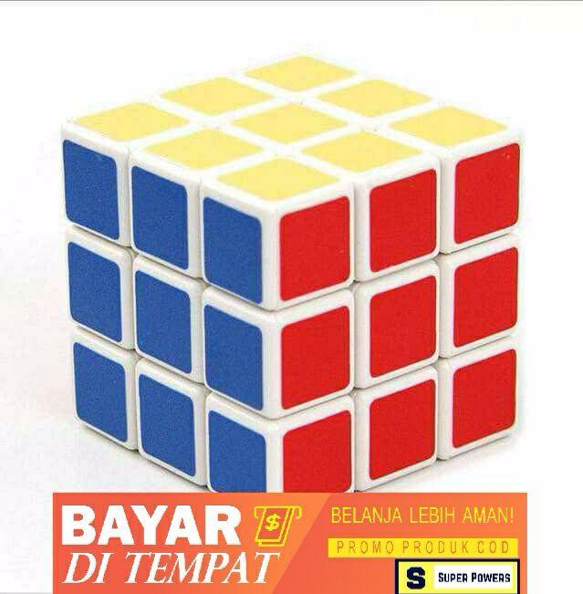 SP Rubik 3x3 Rubik Kubus Full Color - Mainan Rubik / Mainan Anak Speed Cube Magic