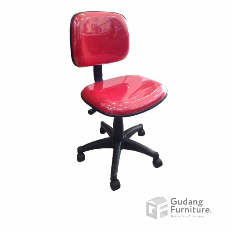 Kursi Kerja Kantor Staff Fantoni F 100 HD - Merah 00480b1c2d