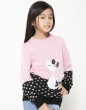 Ulasan Tentang Adamsbell Sweater Anak Kucing Katun Pink Hitam
