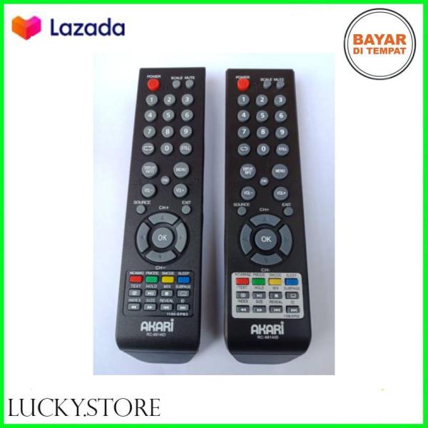 REMOTE REMOT TV AKARI LED LCD SEPERTI ORIGINAL