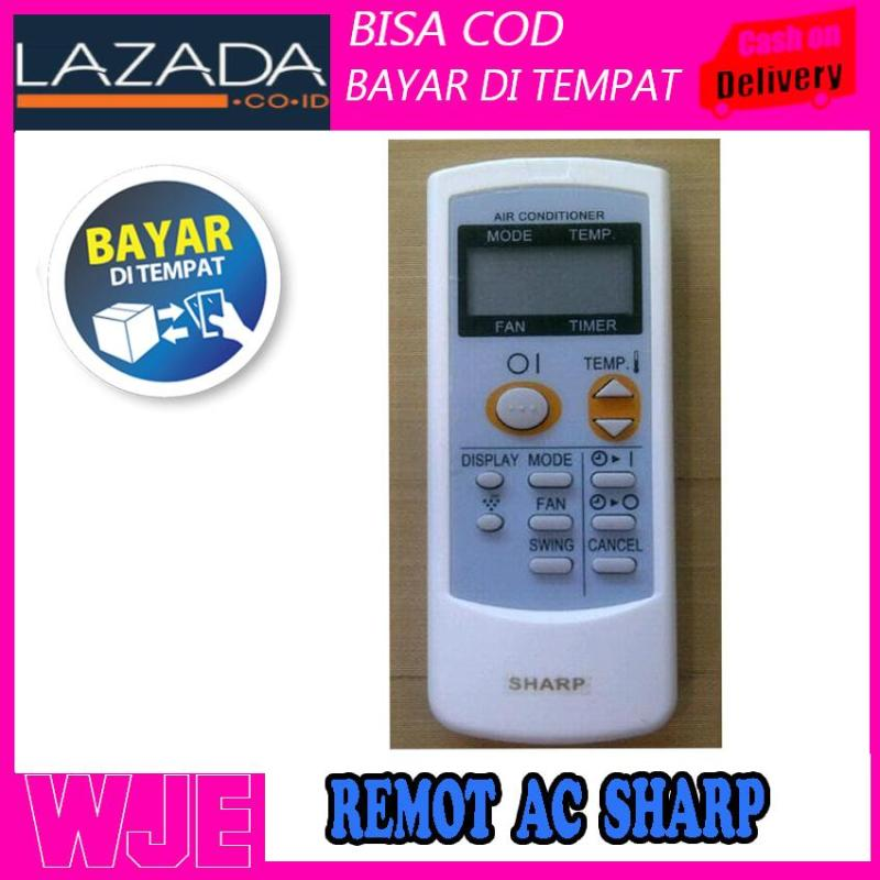 REMOTE AC SHARP ORIGINAL PLASMACLUSTER KUALITAS TOP