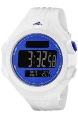 Adidas Jam Tangan Pria - Putih - Rubber - ADP 3140 Questra Blue and White Watch