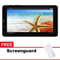 Advan Tablet T1S - 8GB - Hitam + Gratis Screenguard