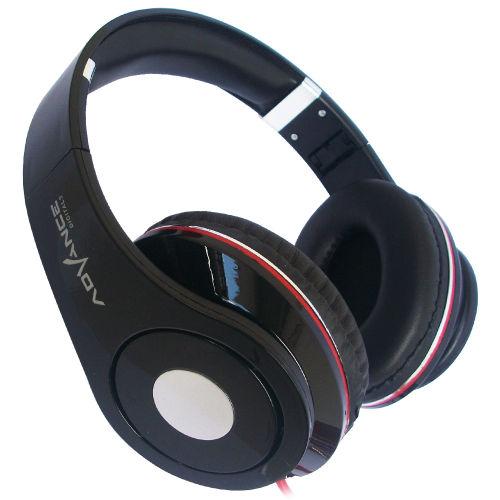 Advance Stereo Headphone MH-031 Extra Bass - Hitam - Headphone Over the Ear | DuniaAudio.com