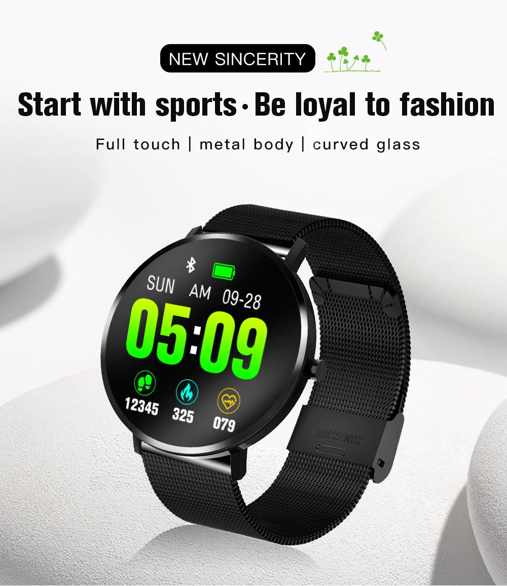 Giá Avoize 【COD】【Free Shipping】F25 Smart Movement Bracelet Step Counter Number Waterproof Music Control Smart Watch For Samsung Xiaomi Wristwatch