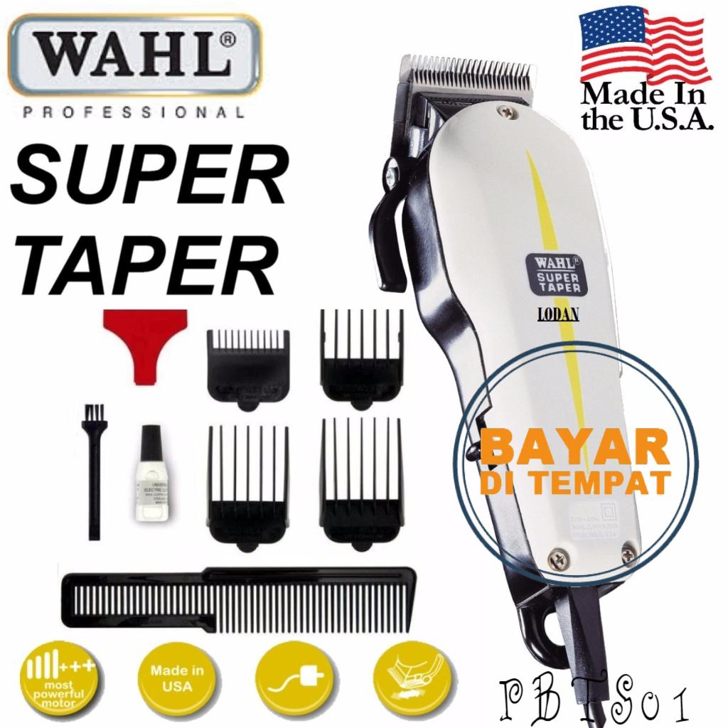 Mesin Alat Cukur Rambut WAHL SUPER TAPER MADE IN USA -PBTS01 31dd307169