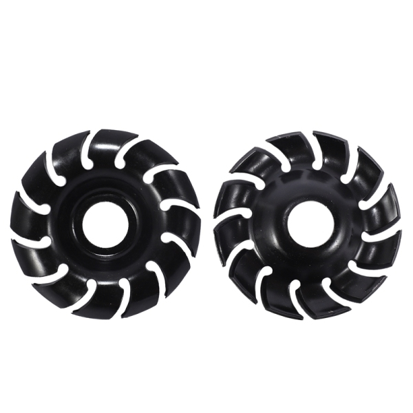 2PCS 90mm 12Teeth Multifunctional High Hardness Wood Carving Disc Wood Shaping Angle Grinder Woodworking Tool