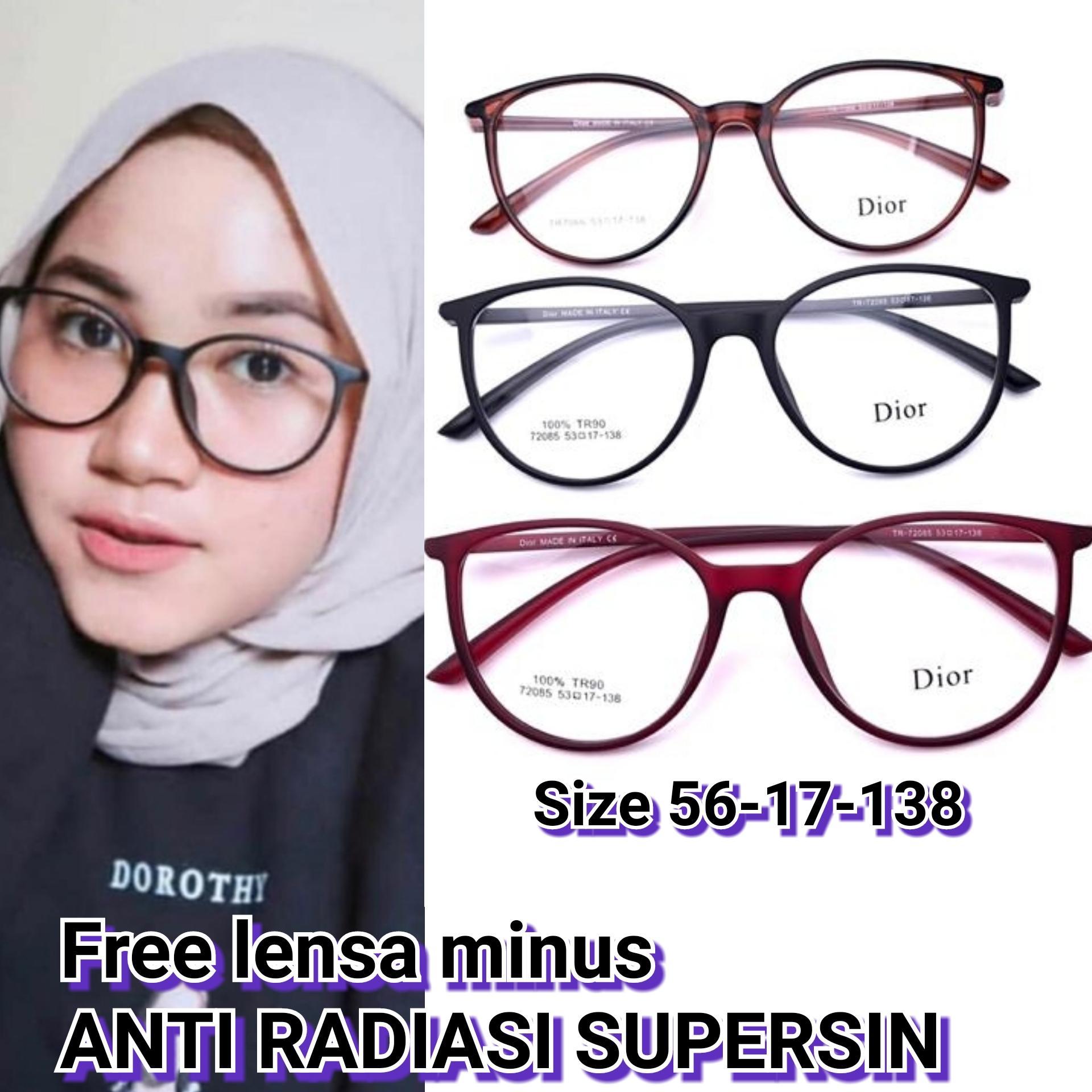 Frame kacamata minus 72085 nisa kacamata korea kacamata Baca Vintage kacamata  minus   plus  cylinder 02d4ffe3a2