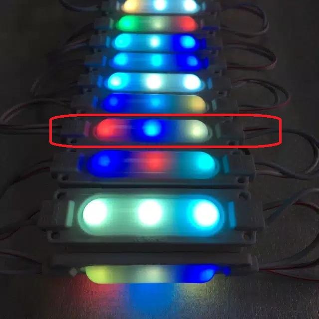 HKA - HAPPYKIDSACC ® / ISI 1 pcs Lampu Led Kolong Truk Bis 24 volt Lampu sorot 24 volt modul cob bis truk new RGB FLASH / FLEXIBLE FLEKSIBEL VARIASI MOBIL TRUK BOX MOTOR
