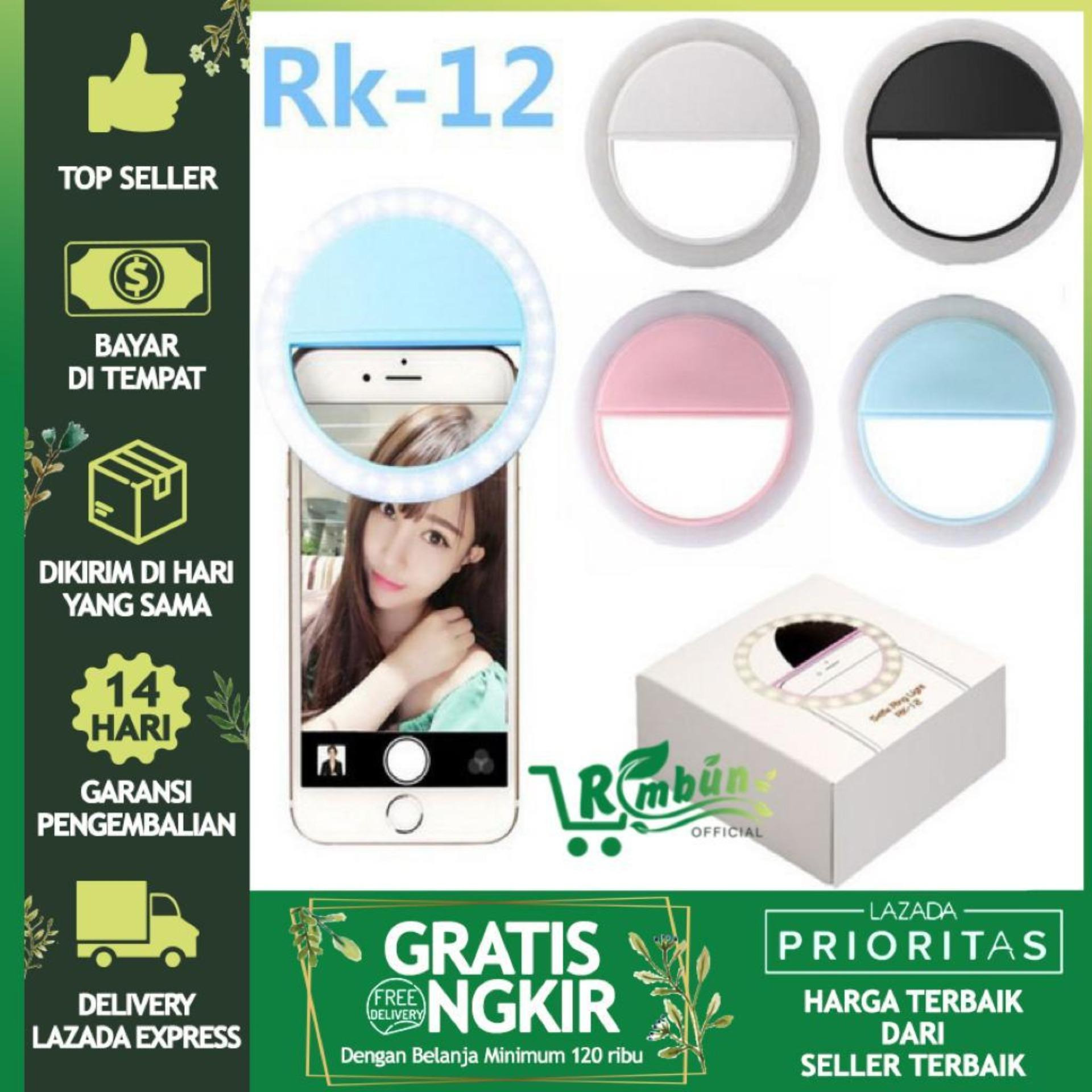 Selfie Ringlight Usb Cable Dan Charger Tipe Rk-12 By Official Rimbun.