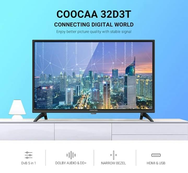 COOCAA 32D3T LED TV 32 INCH HD