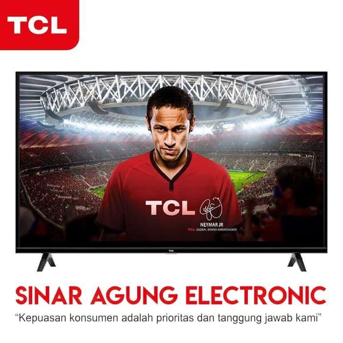LED TV TCL 40D3000 GARANSI RESMI - FREE PACKING KAYU