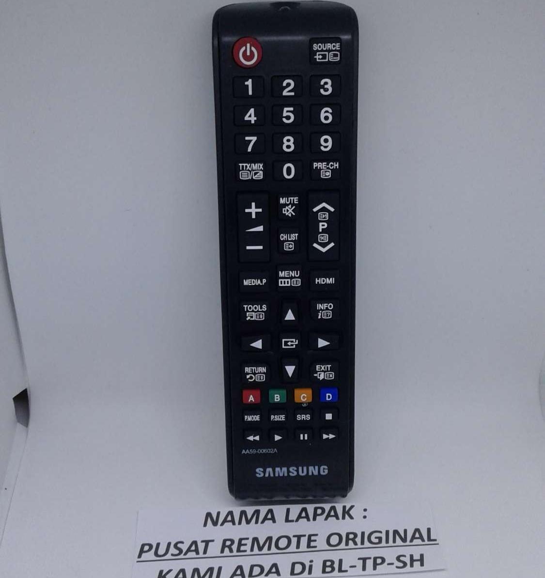 REMOTE REMOT TV SAMSUNG LED LCD ORIGINAL ASLI