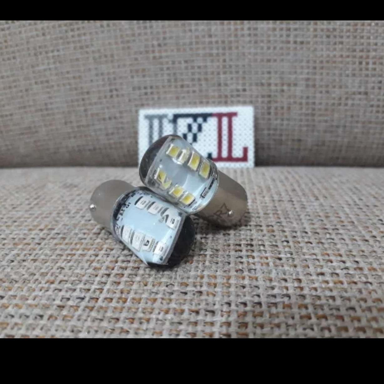 LAMPU REM LED 12 SMD STROBO STOP REM JELLY STOPREM dzlled