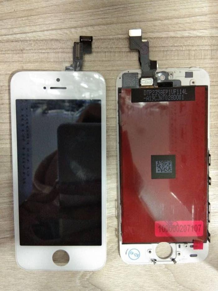 Lcd Iphone 5S + Touchscreen Original 100% pitih