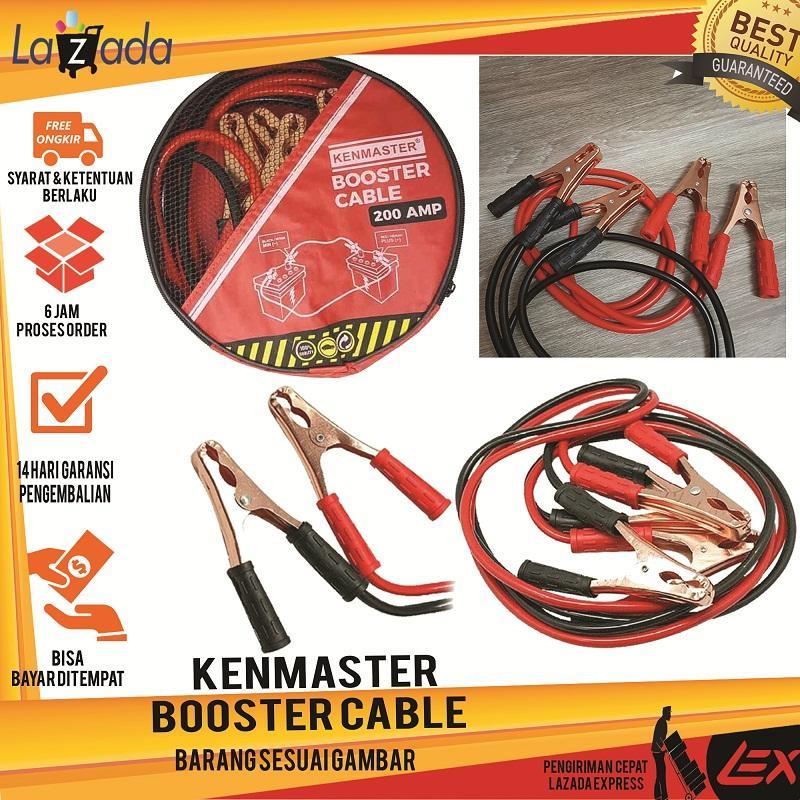 KENMASTER BOOSTER CABLE / KABEL JUMPER AKI KENMASTER