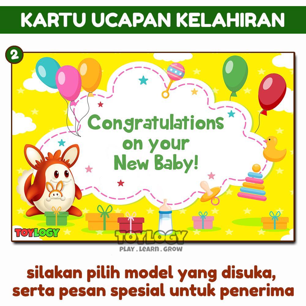 Toylogy Kartu Ucapan Ulang Tahun Ultah Wisuda Kelahiran Birthday