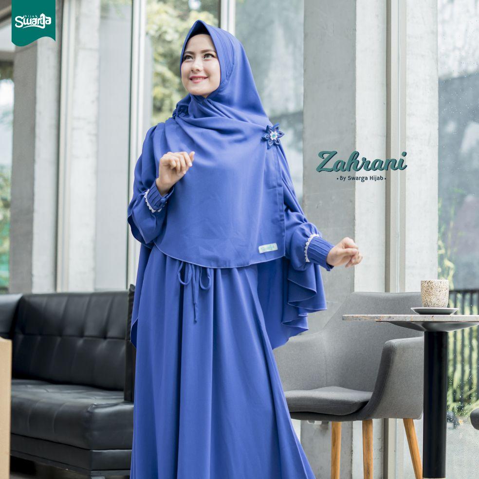 Gamis Zahrani Taro By Swarga Hijab Gamis Terbaru Gamis Syari Gamis Lokal Gamis Serut Lazada Indonesia