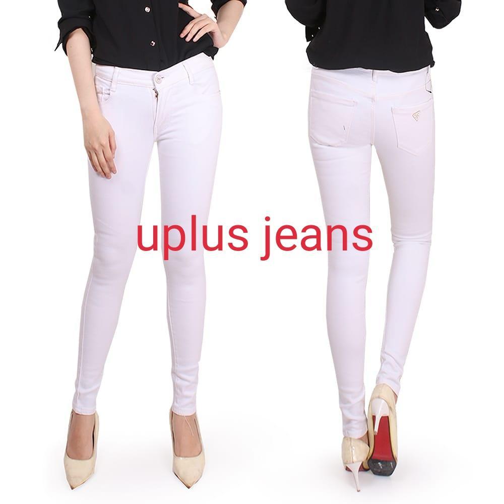 Bisa bayar di tempat(COD)-Celana jeans wanita model skinny bahan soft jeans