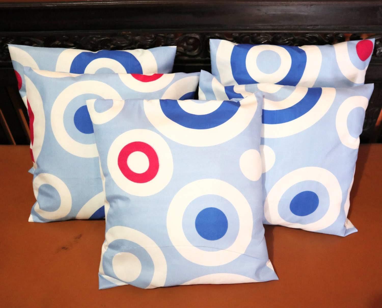 Zoey Sarung Bantal Sofa / Kursi Kombinasi 1 Set = 5 Pcs ( Size 40 x 40 cm )