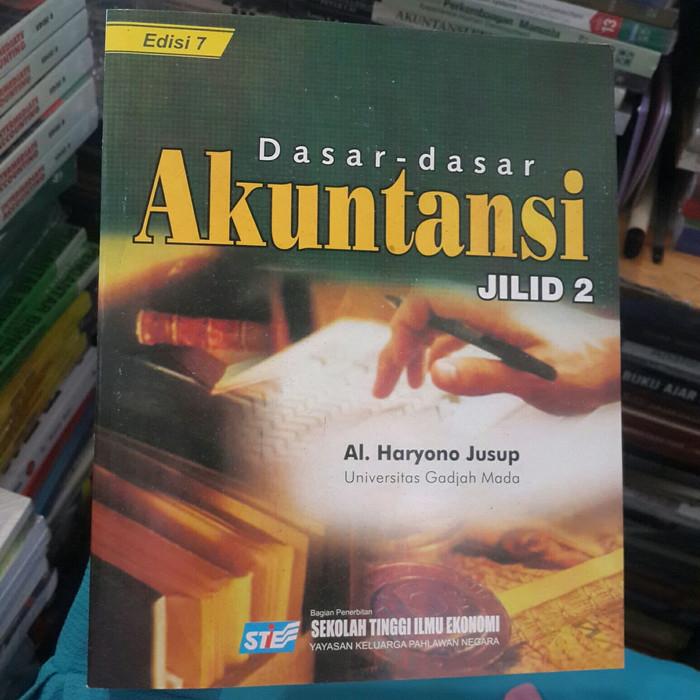 Buku Dasar Dasar Akuntansi Jilid 2 Ed 7 Haryono Jusup Lazada Indonesia
