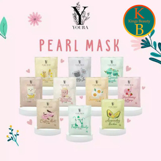 [COD ] Youra Pearl Mask 10gr Wash Off By Youra Masker Wajah Youra thumbnail