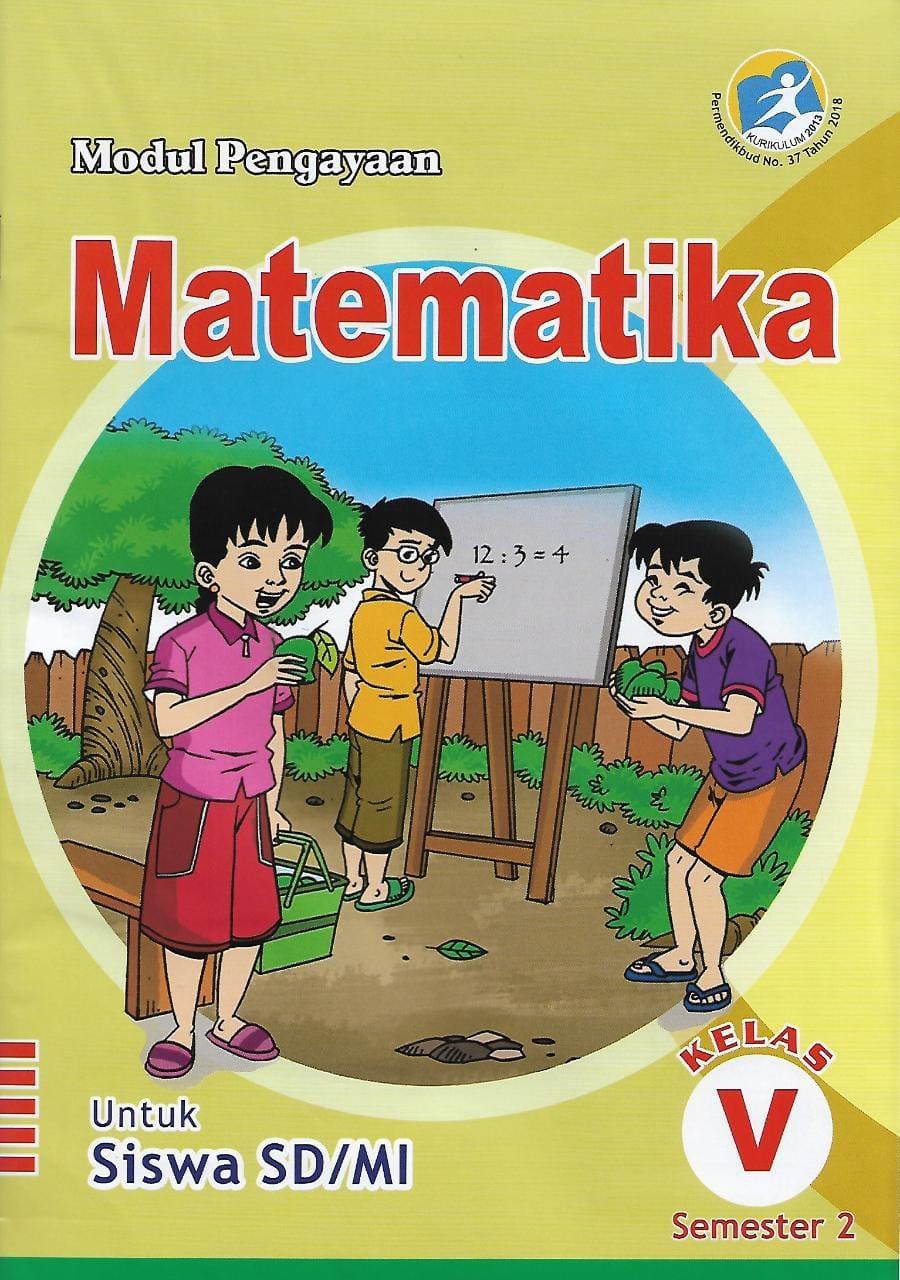 Buku Lks Matematika Kelas 5 Sd Mi Semester 2 Kurikulum 2013 Lazada Indonesia