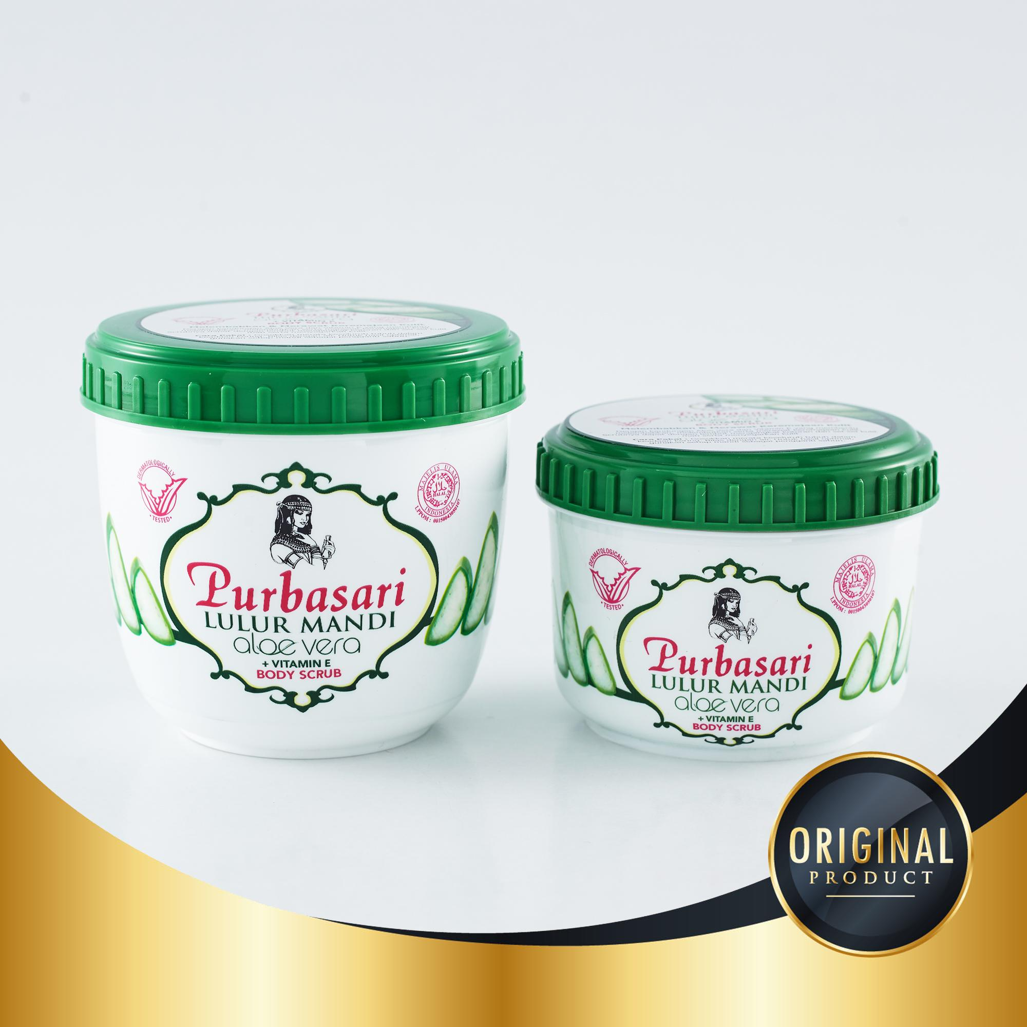 Purbasari Lulur Mandi Aloe Vera Vitamin E 235 Gr