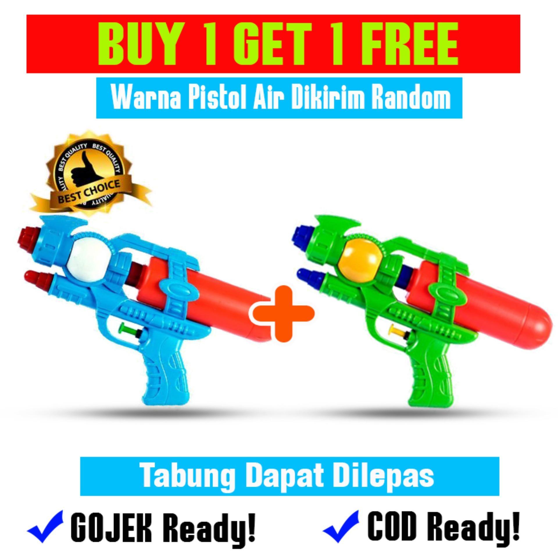 Mainan Anak Buy 1 Get 1 Free Pistol Air Mainan Anak - OCT8108 Multicolor