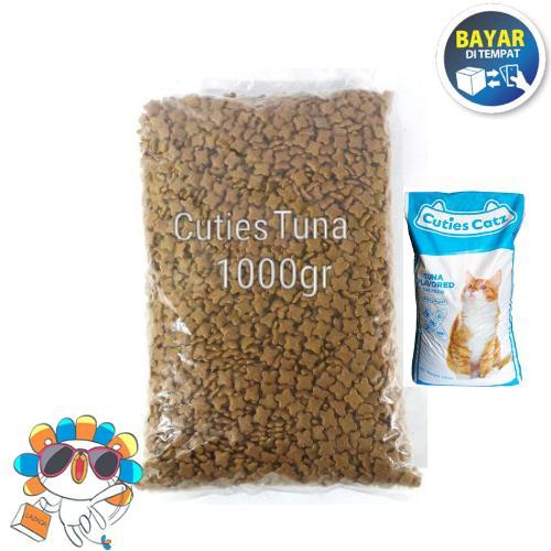 Makanan Kucing Cuties Catz Repack 1kg By Flamouza Petshop.