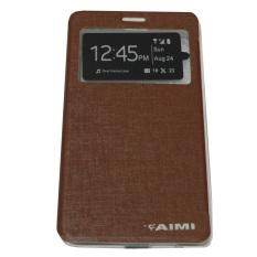 Aimi FlipCover Lenovo Vibe K4 Note - Coklat