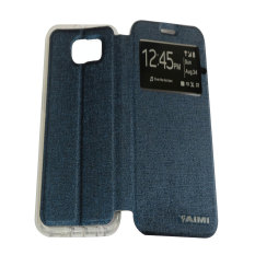 Aimi Flipshell Samsung Galaxy S6 - Biru tua