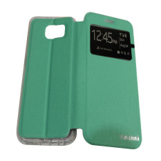 Aimi Flipshell Samsung Galaxy S6 - Hijau Tosca