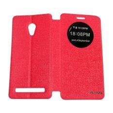 Aimi Leather Case Sarung + AutoLock Function Untuk Zenfone 5 2014 A500CG Flipshell/Flipcover -