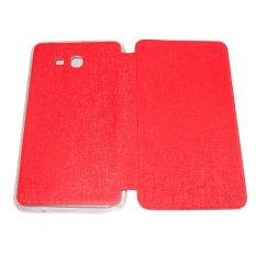 Daftar Harga Aimi Leather Case Sarung Untuk Samsung Galaxy Tab 3 Lite T110 T111 Tab 3 V T116 Merah Aimi