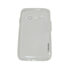 AIMI Ultrathin Case (Anti Jamur) For Samsung Galaxy Ace 4 G313 Jelly case Air Case 0.3mm / Silicone / Soft Case - Transparan