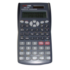 Diskon Alfalink Scientific Calculator Cd 350 Abu Abu Akhir Tahun
