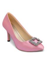 Alivelovearts Lomona Pink Heels