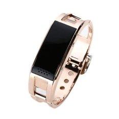 Beli Alloy Bluetooth Tahan Air Smartwatch Gelang Emas D8 Kredit